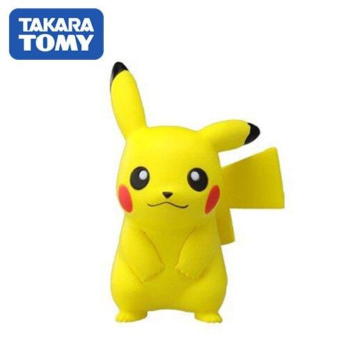 【日本進口】皮卡丘 Pikachu 寶可夢 造型公仔 MONCOLLE-EX 神奇寶貝 TAKARA TOMY - 968368