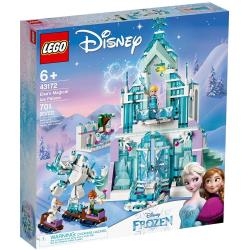 ◎台灣樂高公司貨 ◎適合年齡 : 6歲以上 ◎積木片數 : 701 PCS商品名稱:樂高積木LEGO《LT43172》迪士尼公主系列-Elsa'sMagicalIcePalace種類:積木適用年齡:5