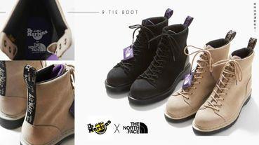 Dr.Martens X The North Face 聯名推出「機能型馬汀靴」!時尚米、經典黑二色,耐髒、好走又百搭!
