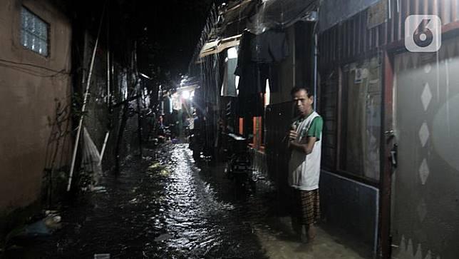 49 Kelurahan di Jakarta Masih Terendam Banjir hingga Malam Ini