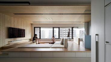 2020從TID看設計:居住空間 單層--「生活盒子」