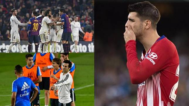 Laga Berat Madrid Usai Clasico dan Konflik Batin Morata Si Pemain Buangan