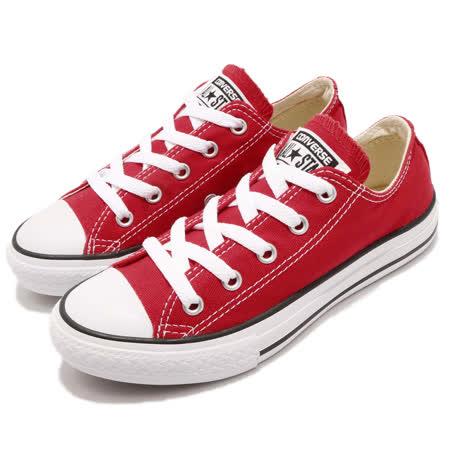 品牌: CONVERSE型號: 3J236C品名: Chuck Taylor All Star特點: 基本款 穿搭 經典 舒適 中童 紅 白