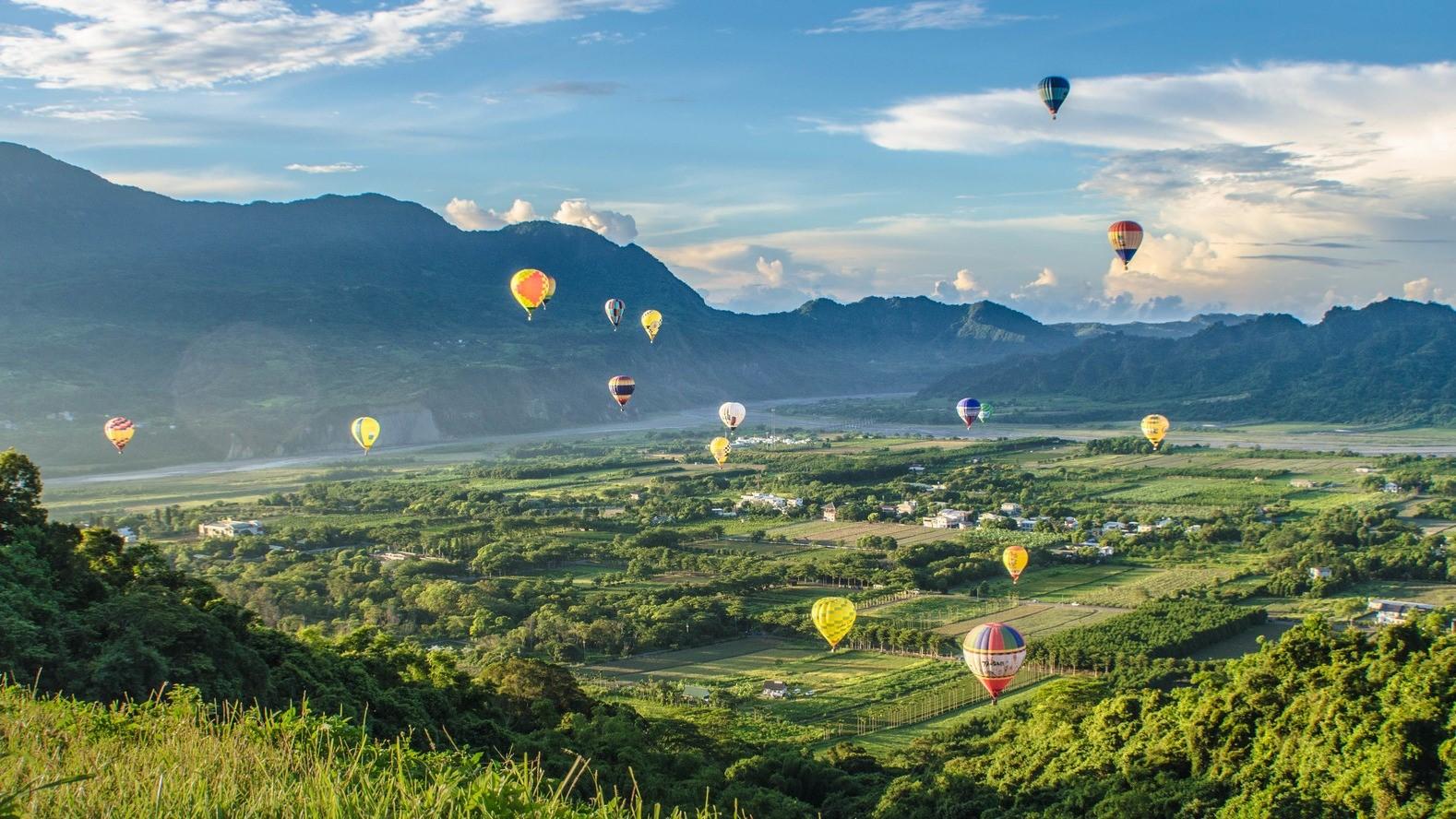 暑假限定台東小旅行!熱氣球嘉年華開跑加IG打卡私房台東景點!