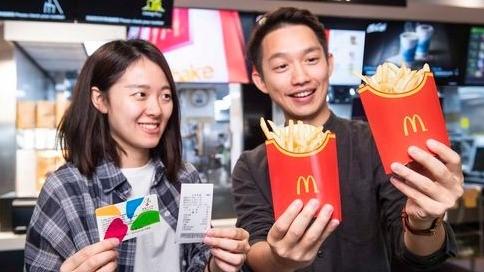 去麥當勞也能用悠遊卡! 限時七週享「大薯買一送一」