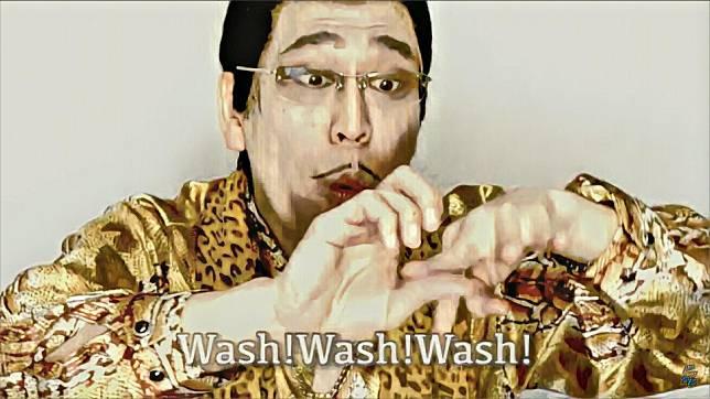 """พิโกะทาโร่ชวนทุกคนมาล้างมือใน """"PPAP 2020"""""""