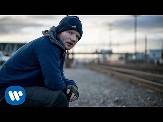 Ed Sheeran有兩首歌打入十大。