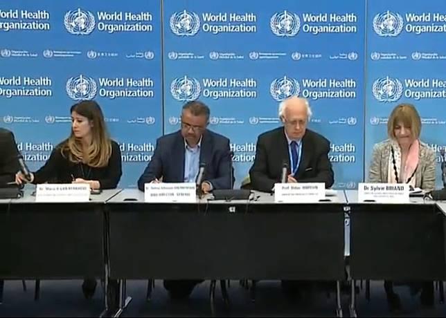 世衞未列武漢肺炎疫情為國際公共衞生緊急事件。