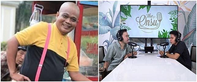 Kronologi komedian Sapri dirawat di ICU, sempat hubungi Ruben Onsu