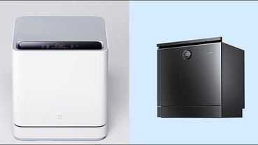 小米推出兩款 米家互聯網洗碗機(4套檯面式/8套嵌入式),眾籌價約 4,320 元起