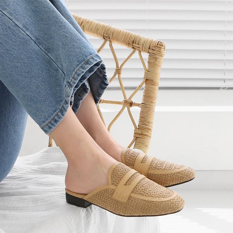 [SAPPUN官方旗艦店] Blud藤編懶人鞋(1.5cm)