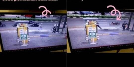 Viral Video Motor Jalan Sendiri. TikTok/@agunguhuy ©2021 Merdeka.com
