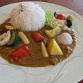 野菜カレー - 実際訪問したユーザーが直接撮影して投稿した内藤町その他飲食店楽羽亭の写真のメニュー情報
