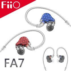 ◎低.中.高.超高獨立四音分頻|◎高純度單晶銅鍍銀線 / MMCX規格可換線設計|◎德國進口高透明+酷炫配色外殼品牌:無連線模式:有線耳機型號:FA7種類:音樂耳機,線控耳機配戴方式:繞耳式耳機,入耳