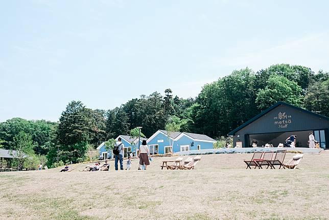 免費進場的園區Metsä Village。