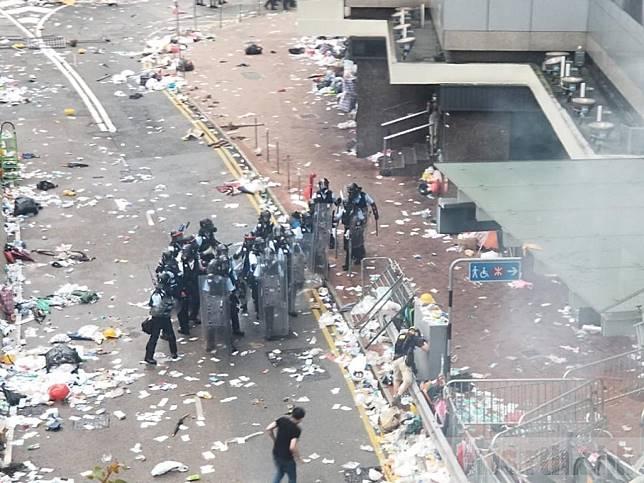 國際特赦組織認為,警方在當日的表現未能達到聯合國的標準。(港台圖片)