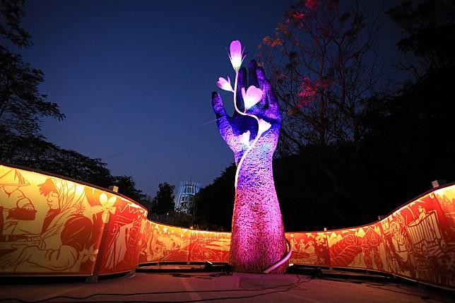 一隻手展客家風華    2020台灣燈會重現失傳藍染技藝