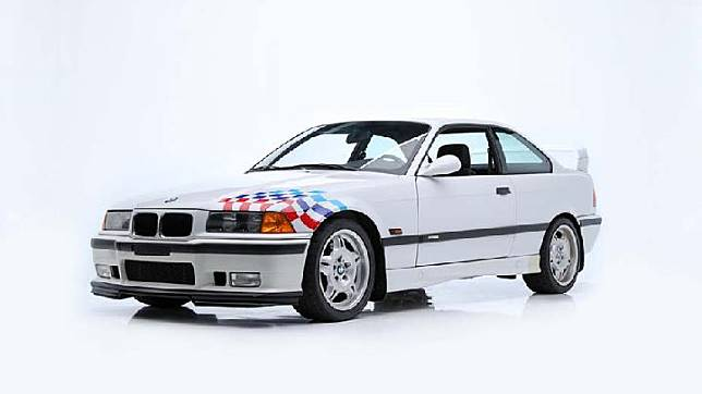 BMW M3 E36 Lightweight Edition 1995 milik Paul Walker. (Barrett-Jackson)