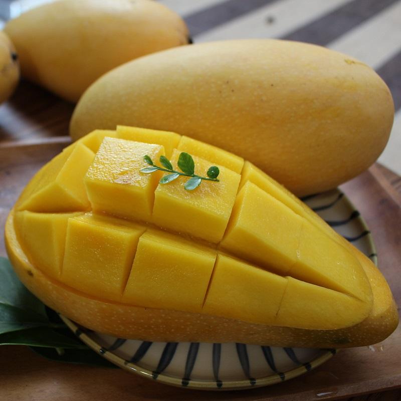 一起買水果弦月金芒果-金煌芒果(每箱約6公斤/6-7顆)