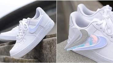 四個願望一次滿足!Nike 再推可替換 Swoosh 的 Air Force 1 新作