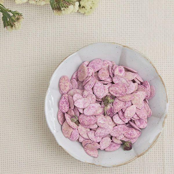 玫瑰花瓜子 精選特大白瓜子 加上玫瑰花 美觀又大方 自家手工制作 獨家口味