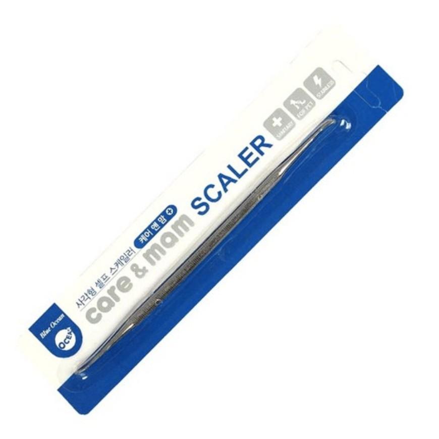 【韓國Care&Mam】狗狗潔牙工具(四角型) 雙頭潔齒 寵物牙石 清潔器犬 貓去除牙垢 牙石洗牙器 口腔潔齒 除臭