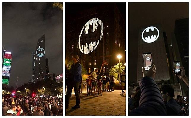 Bat-Signal dinyalakan di seluruh penjuru dunia untuk rayakan 80 tahun Batman