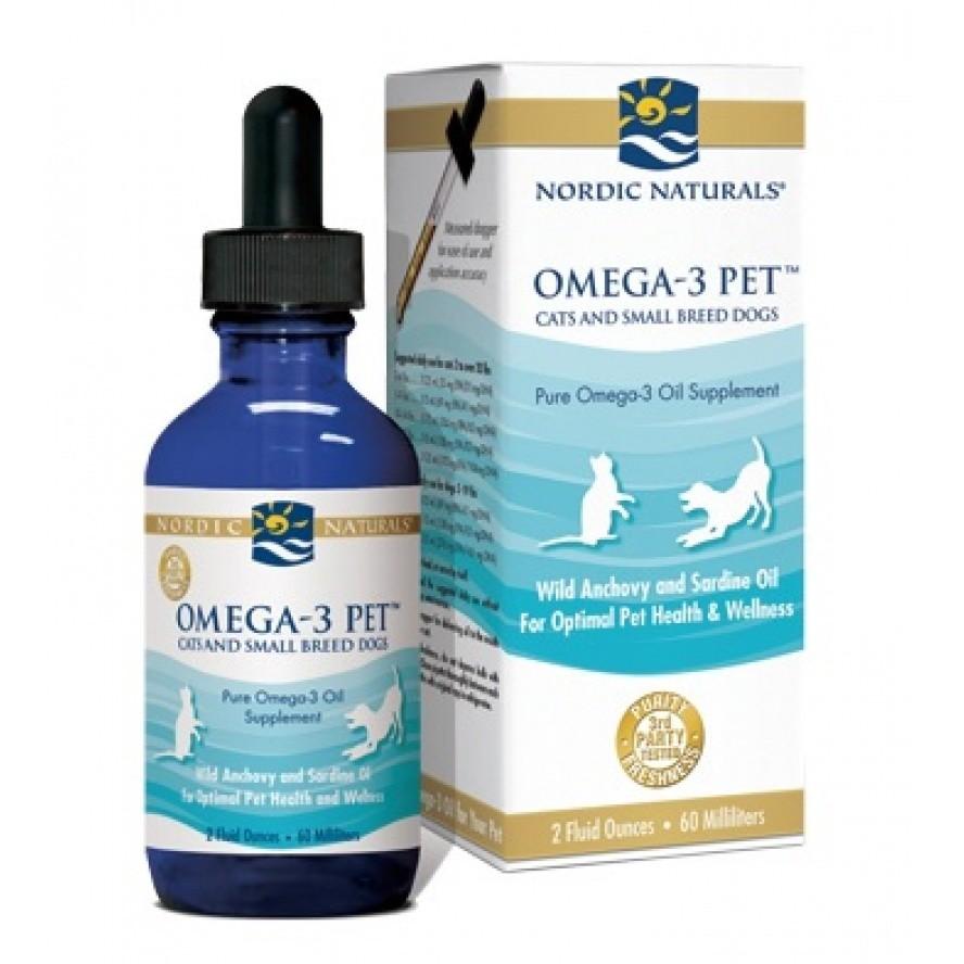 【專品藥局】 北歐天然 Nordic naturals 寵物魚油(適合貓和小型犬)60ml