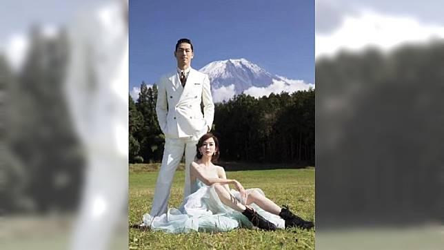 圖/翻攝自日本旅拍婚纱攝影東京華影STUDIO微博