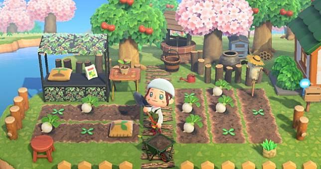 達人地上繪將《動物森友會》變成大頭菜農場,輕鬆下載人人都來當農夫👨🔧