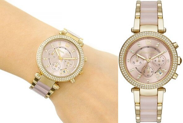 Ladies Parker Blush Chronograph Watch