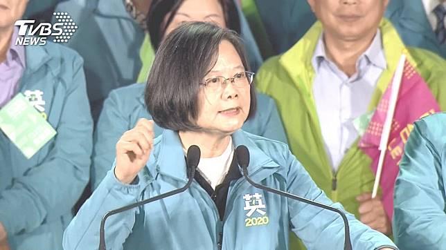 總統蔡英文。圖/TVBS資料照