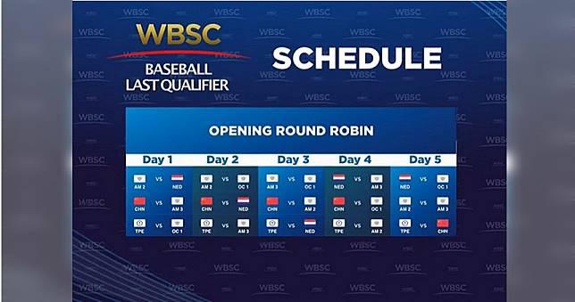 奧運棒球6搶1賽程出爐 中華隊連打五天投手戰力成關鍵