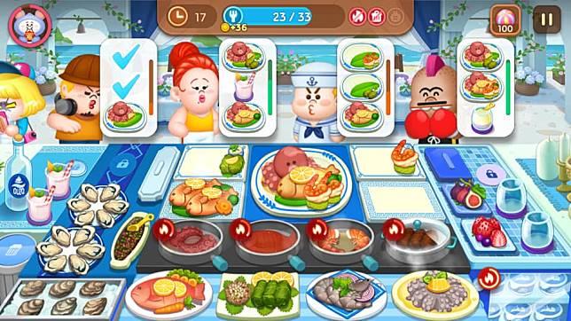 新餐廳有好多食材要煮,每款食材的觸控點都非常小,玩家挑戰前要做好手指抽筋的心理準備⋯⋯