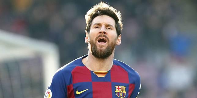 Lionel Messi mencetak Quattrick ke gawang Eibar pada pekan ke-25 La Liga, Sabtu (22/2/2020) (c) AP Photo