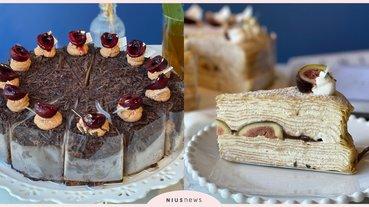 時飴秋季期間限定「栗子蒙布朗」和「無花果千層蛋糕」!加碼「酒漬櫻桃黑森林」