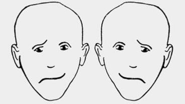 【心理測驗】左右哪個臉,看起來比較「開心」?