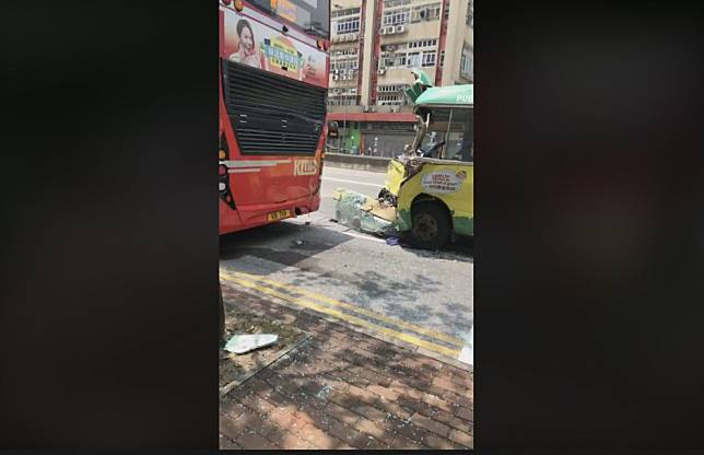 Ten injured in yet another Hong Kong bus crash the day after driver becomes latest to die on city's roads