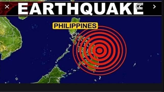 แผ่นดินไหวขนาด 6.4 เกาะมินดาเนาของฟิลิปปินส์,มีคนบาดเจ็บ