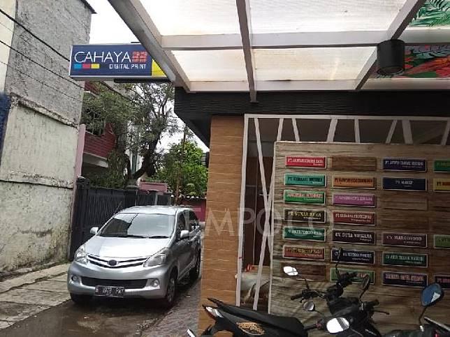 Suasana kantor PT. Bahana Prima Nusantara, pemenang tender revitalisasi Monas yang menyatu dengan digital printing Cahaya 33, Selasa 21 Januari 2020. TEMPO/ADE RIDWAN