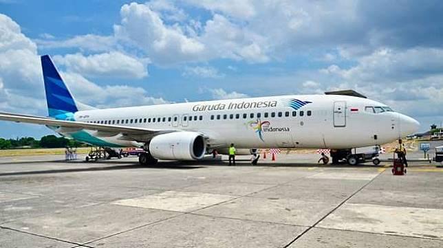 Ilustrasi: Pesawat Garuda Indonesia. (Shutterstock)