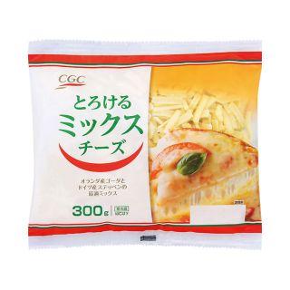 とろけるミックスチーズ 300g