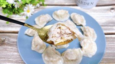 【團購人氣美食-餃子奶奶冷凍水餃】高麗菜水餃皮薄內餡多,鮮甜多汁健康營養
