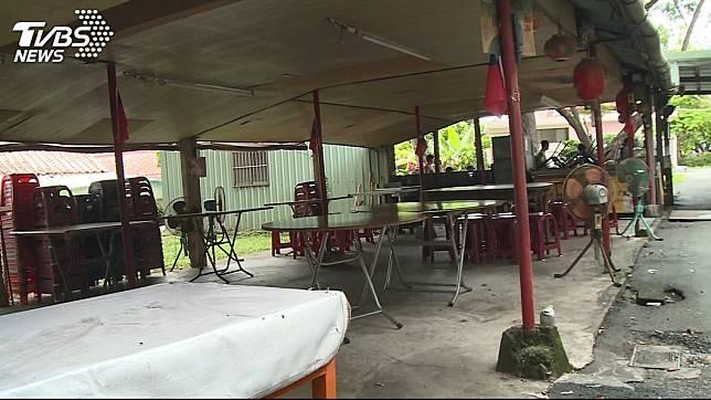 南投一間知名臭豆腐老店,上月底爆發有民眾消費後出現上吐下瀉和發燒的症狀。(圖/TVBS)