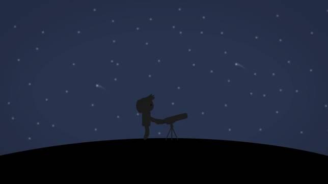 Ini mana black hole-nya ya? Kok ngga keliatan? Malahan Bintang-bintangnya kenapa mirip komedo ya jadinya!