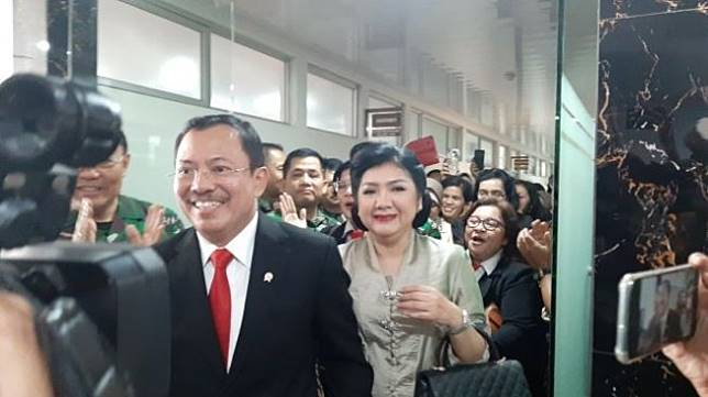Mayjen TNI Dr dr Terawan Agus Putranto, Sp.Rad(K) mendapat amanat tugas sebagai Menteri Kesehatan RI periode 2019-2024. (Suara.com/Dini Afrianti Efendi)