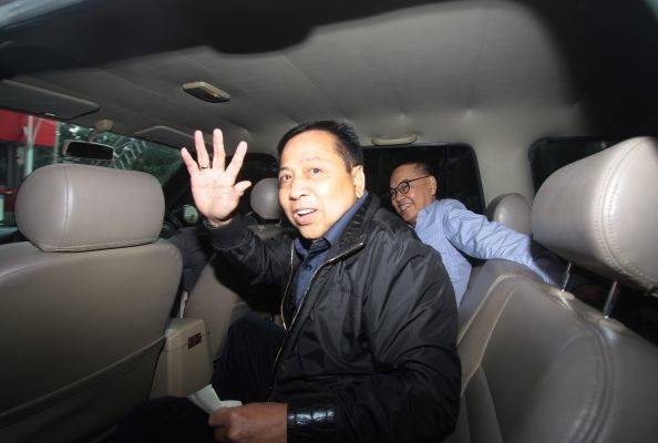 Terdakwa kasus korupsi KTP-e Setya Novanto