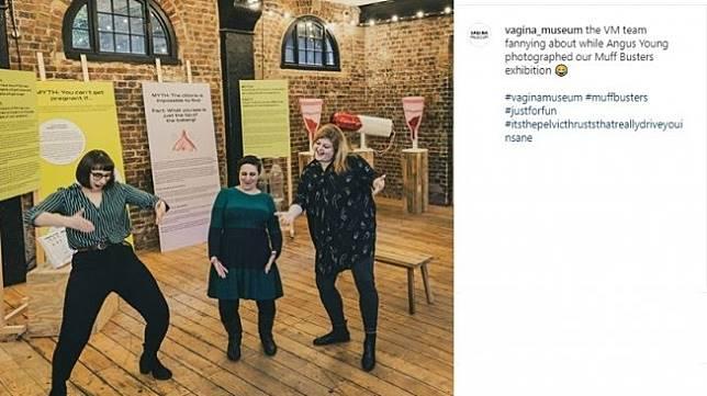 Museum vagina pertama (Instagram/@vagina_museum)