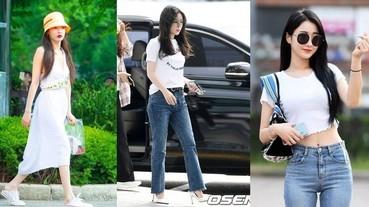 韓星上班路都穿什麼?三款私服時尚出鏡率最高,跟著穿涼快又時髦