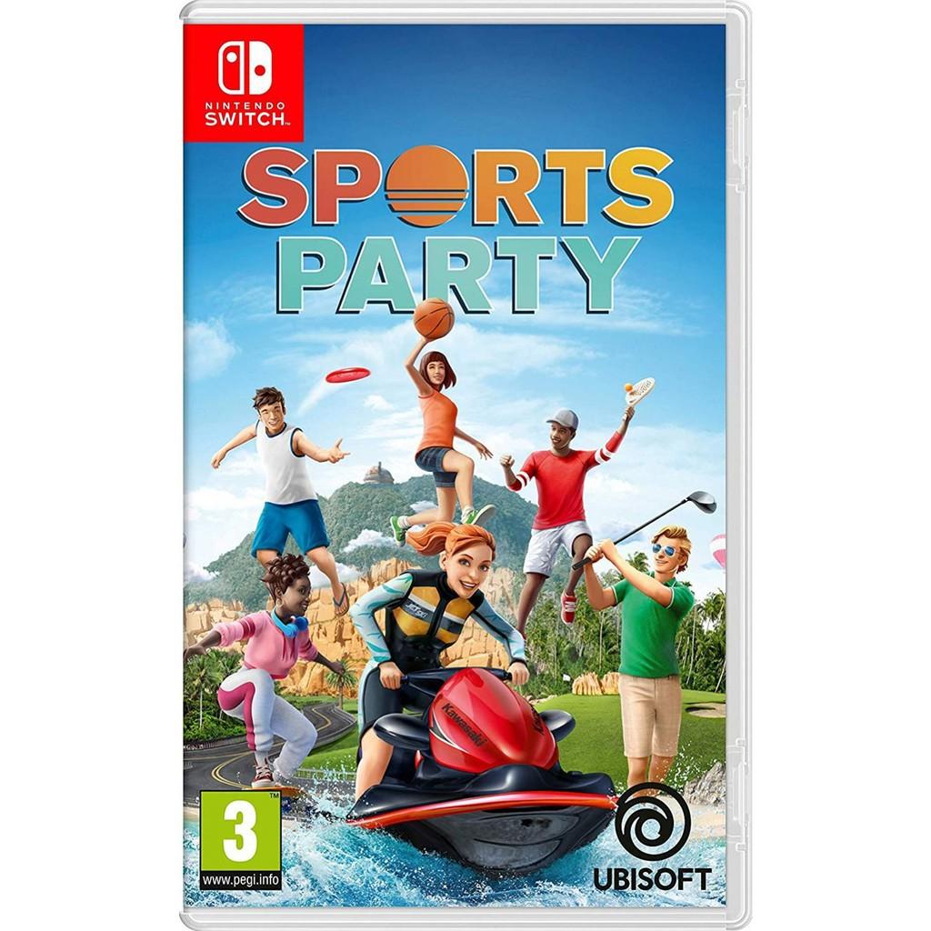 NS Switch 運動派對 Sports Party 中文版 派對 運動遊戲 【就是要玩】